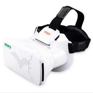Ritech Riem Iii Virtual Reality 3D Head-Mounted Glasses With Remote Control - g-y-mega-store