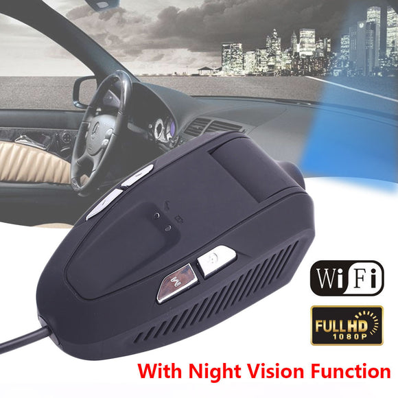 Dash Cam Car Camera Intelligent GK Program 1080P Automobile Wireless WIFI DVR G-Sensor Night Vision - g-y-mega-store