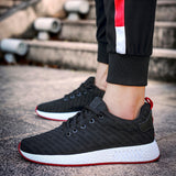 Women Men Mesh Shallow Mouth Cross Tied Casual Shoes Gym Shoes Skate Shoes