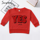 Simplee 2018 Autumn Winter Kids Clothes Long Sleeve T-shirt Cartoon Animal Boys Sweatshirts Baby Kids Girls Sports Tees Tops - g-y-mega-store