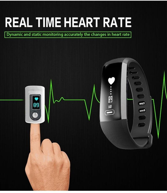CURREN M2 R5 Pro Smart WristBand Fitness Tracker Bracelet Heart Rate Blood Pressure Watch Pulse Meter Oxygen SMS Call Sport band - g-y-mega-store