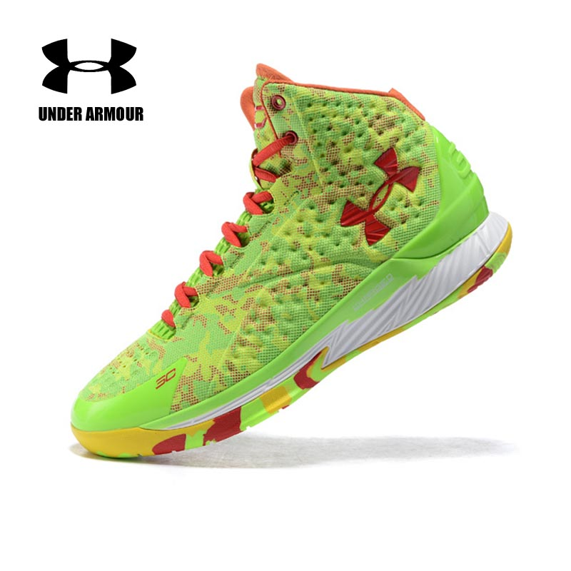 e8170df6c62a Under Armour Men Curry V1 Basketball shoes Stephen Curry training boots  Zapatillas hombre deportiva classic basketball ...