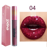 Sexy Shimmer Diamond Matte To Glitter Liquid Lipstick Long Lasting Waterproof Metallic Pearl Colour velvet Lipgloss Lip Makeup 15