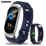 BANGWEI Women Sport Smart Watch Men LED Waterproof SmartWatch Heart Rate Blood Pressure Pedometer Watch Clock For Android iOS