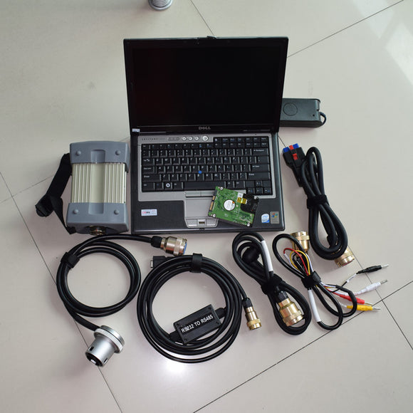 mb star c3 full set diagnostic tool with software hdd laptop d630 all cables ready to use 2 years warranty best price