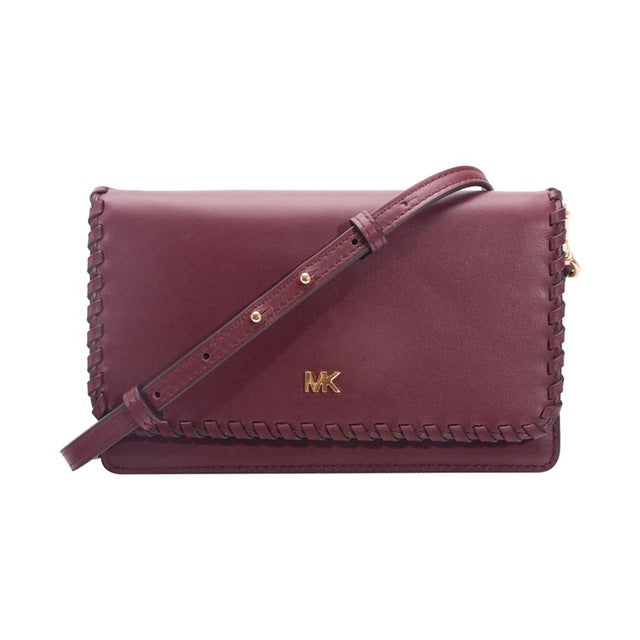 e7a1cca53133 ... Michael Kors MK Whipstitched Leather Convertible Crossbody Bag  32F8GF5C9O ...