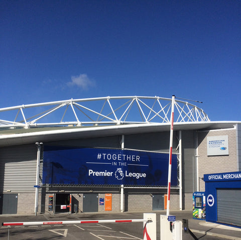 Brighton Football Club Window Branding