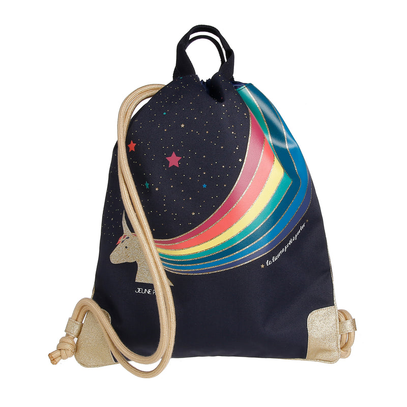 Sac Jeune Premier City Bag Unicorn Gold