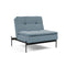 Fotoliu recliner Innovation Living Dublexo Lauge Soft Indigo