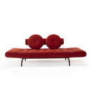Canapea / pat de zi Innovation Living Ghia Haylo Velvet Brick Red