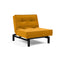 Fotoliul recliner Splitback Cuno Elegance Burned Curry