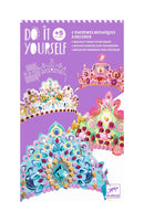 Set coronite de printese, multicolor