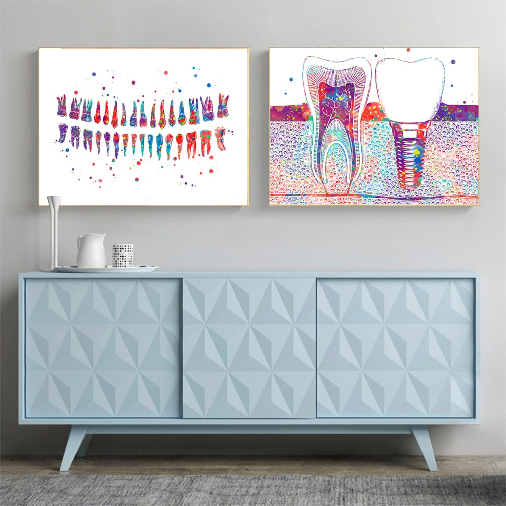Dental ART Pictures / FREE GLOBAL DELIVERY