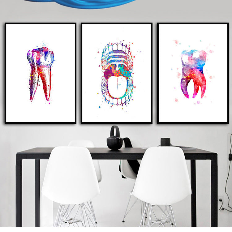 Tooth Art Poster