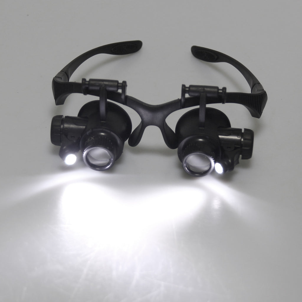 Magnification Loupes With LED Light