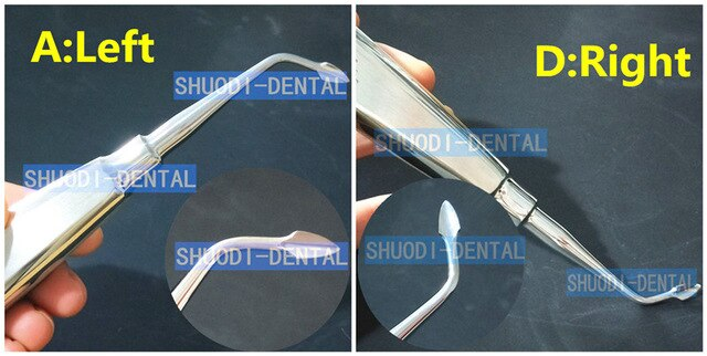 Elevators /Extraction Kit - 4 pcs/set Dental Extraction Minimally Invasive German Stainless Steel Dental