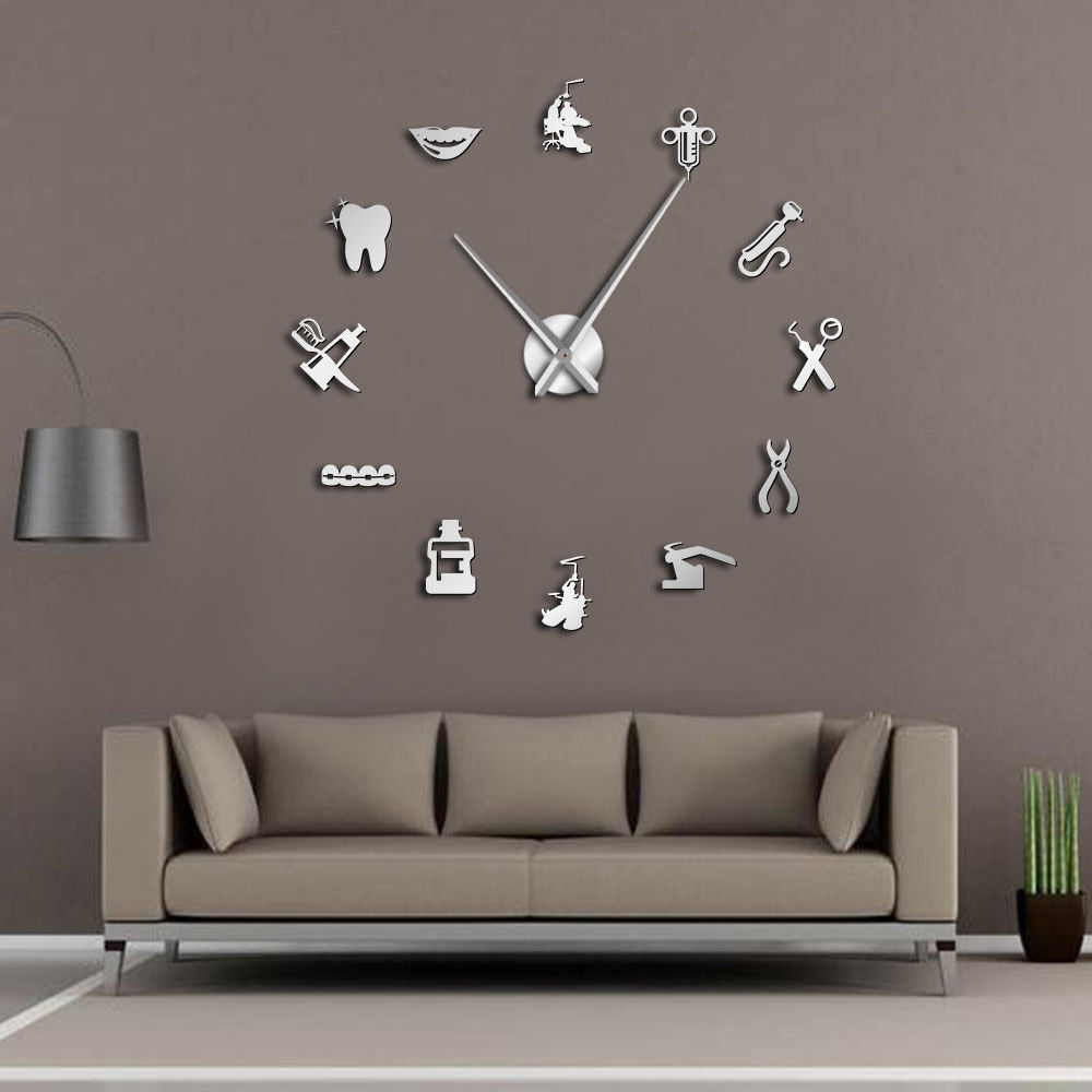 Wall Dental Clock / FREE GLOBAL DELIVERY