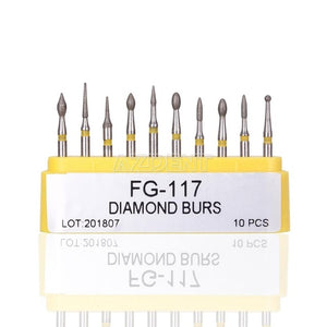 Dental Diamond Burs Set