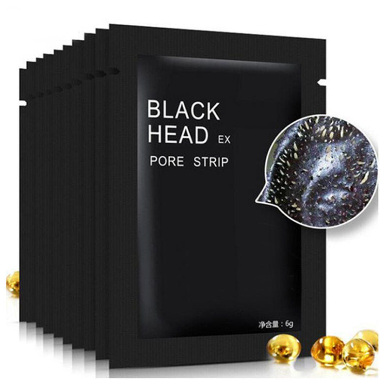 5 Black Face Masks - Acne Therapy - Blackhead Remover FREE GLOBAL DELIVERY
