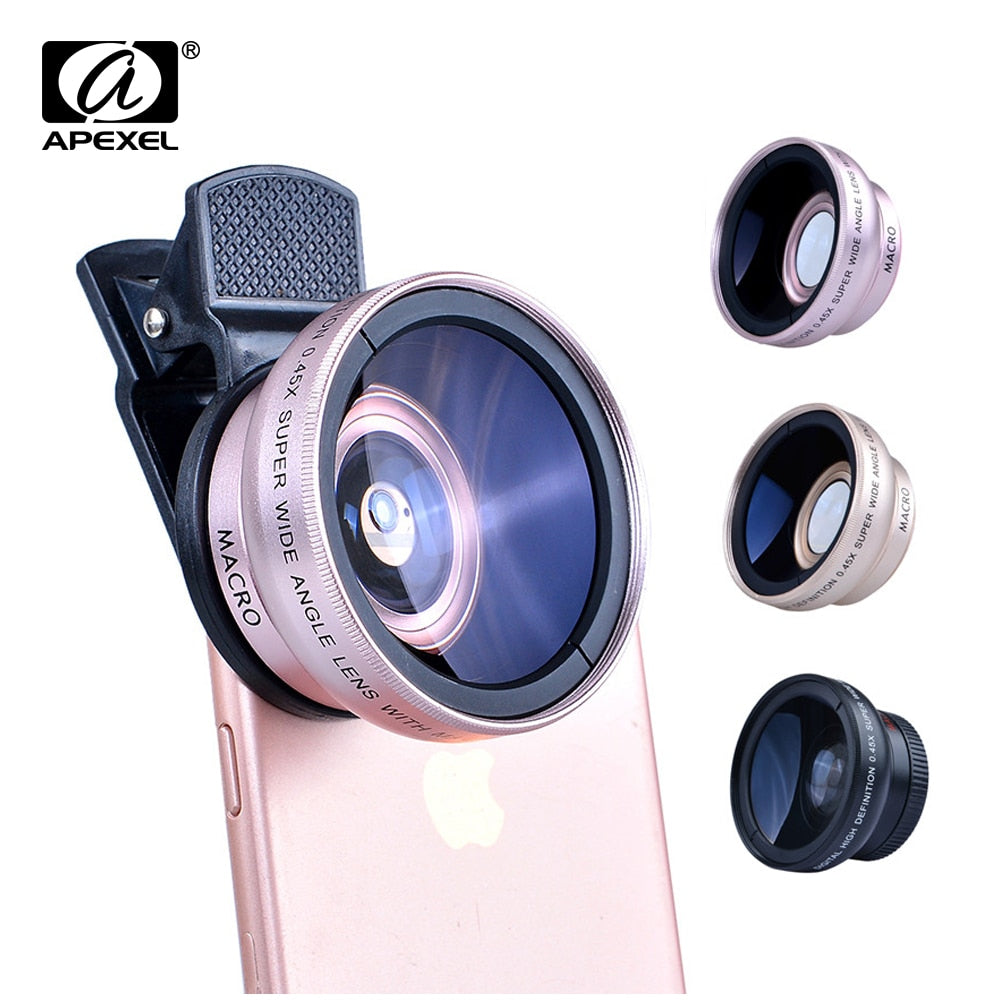 Super Macro Lens For Smartphones