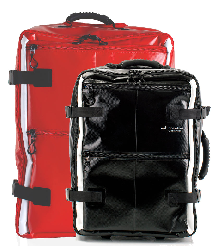 Tarpaulin Set Red-Black