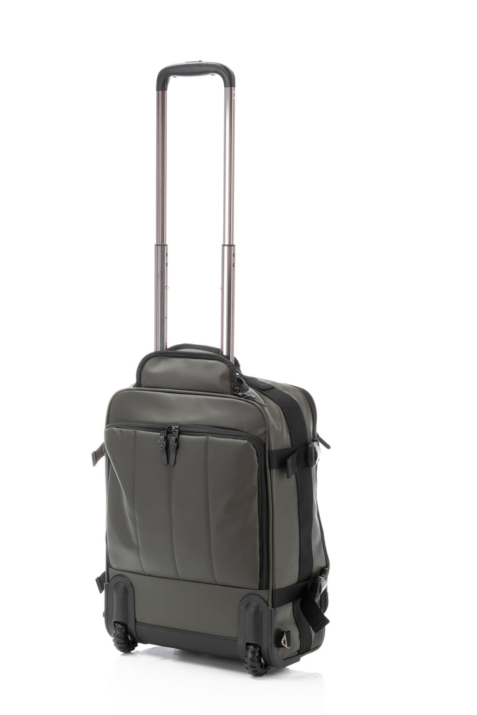 Hideo Wakamatsu Veil 2-Way Carry-On Army Green