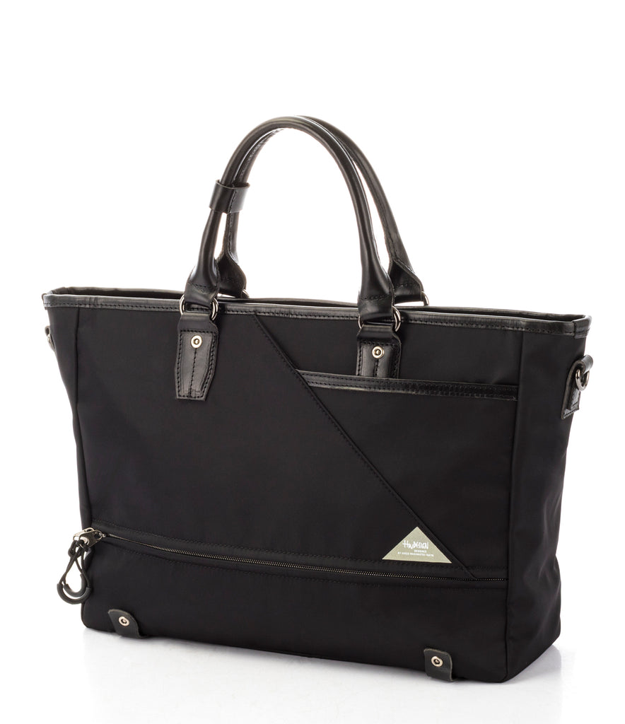 Hideo Wakamatsu Musette Attache Navy Black