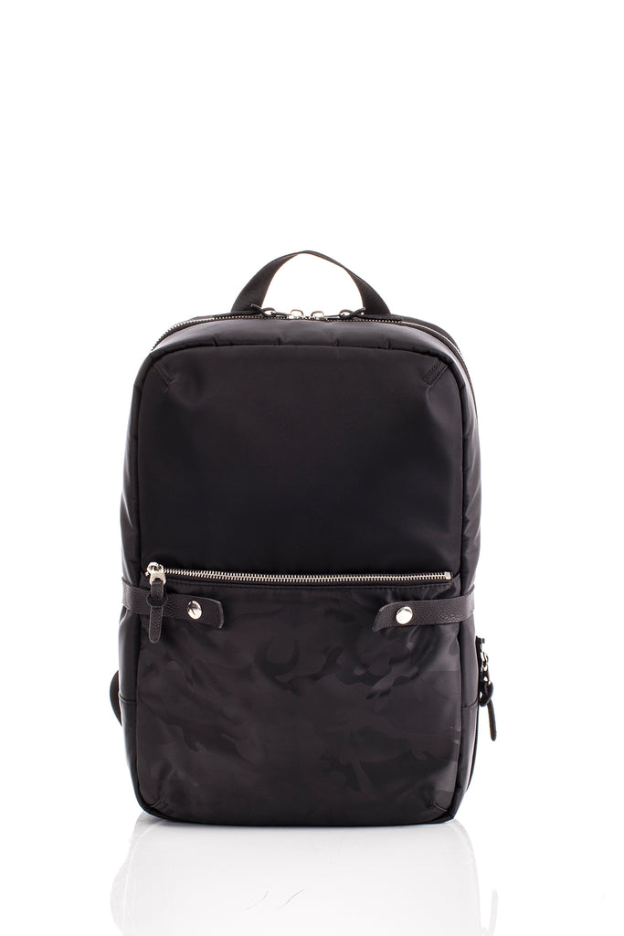 HIDEO WAKAMATSU APRO BACKPACK BLACK