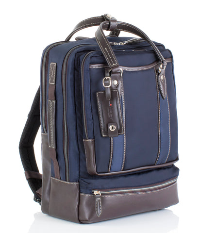 Hideo Wakamatsu Bring Laptop Backpack Navy