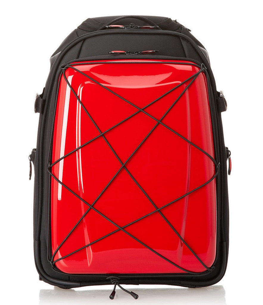 Hideo Wakamatsu Hybrid 2-Way Gear Carry-On Red
