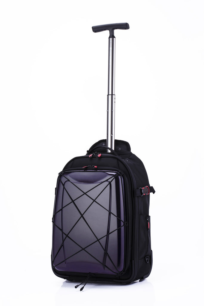 Hideo Wakamatsu Hybrid Carry-On Purple