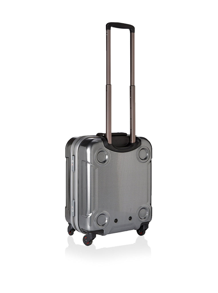 Hideo Wakamatsu Stack Carry-On Carbon Silver