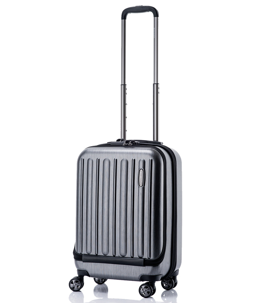 Hideo Wakamatsu Flash Carry-On Gunmetal