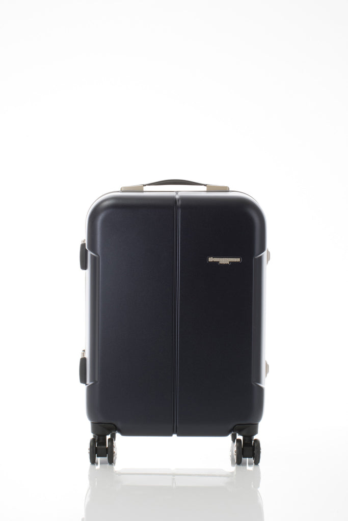 Hideo Wakamatsu Narrow Carry-On Navy