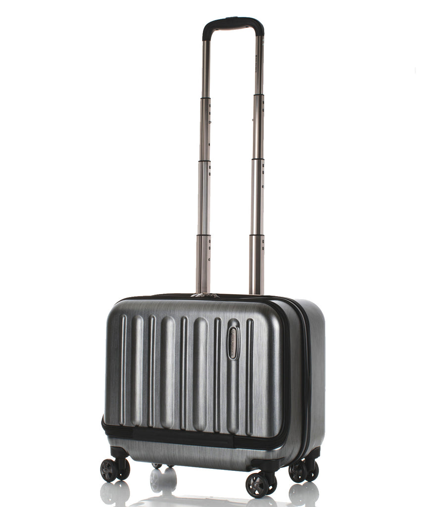 Hideo Wakamatsu Flash Carry-On Wide Silver