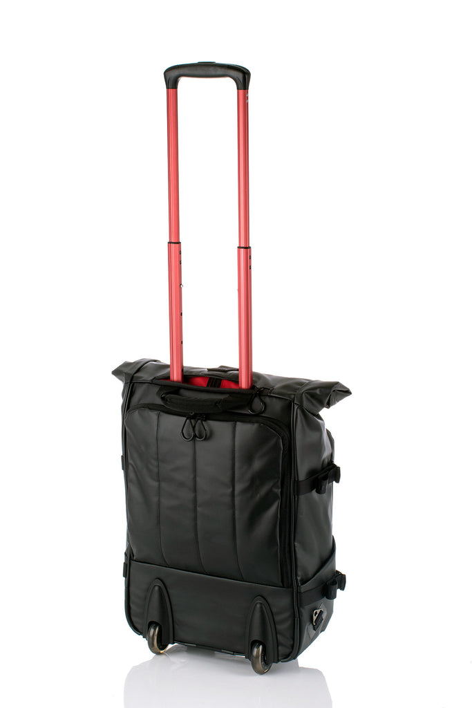 Hideo Wakamatsu Dolphin 2-Way Carry-On Black