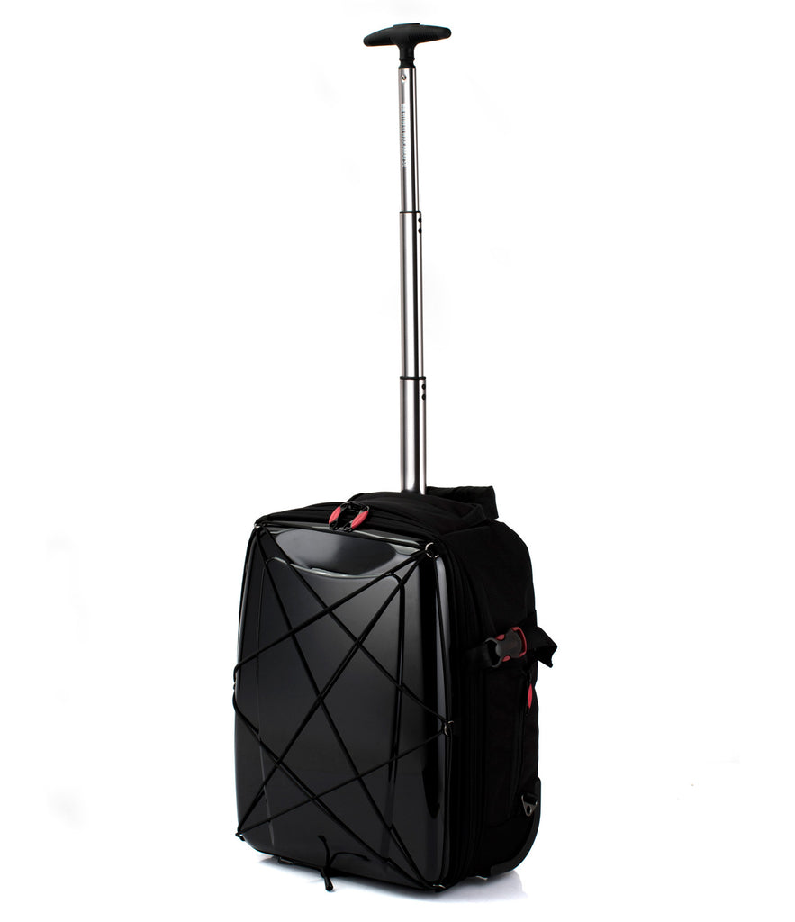 Hideo Wakamatsu Hybrid 2-Way Gear Carry-On Small Black