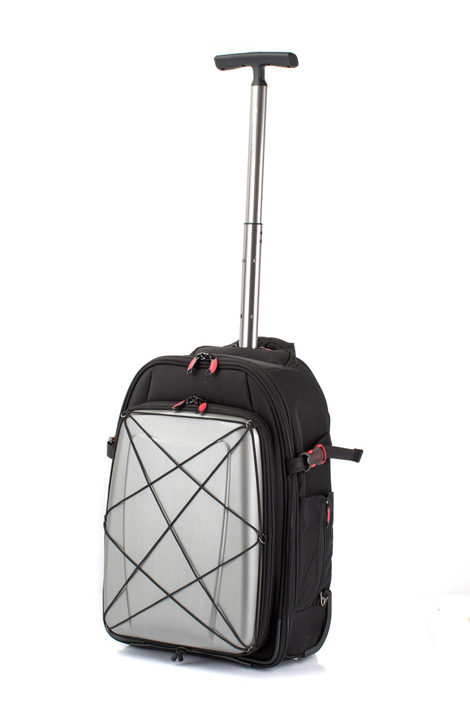 Hideo Wakamatsu Hybrid Carry-On Silver