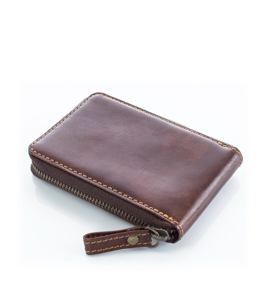 Hideo Wakamatsu Cent Zippered Coin Case