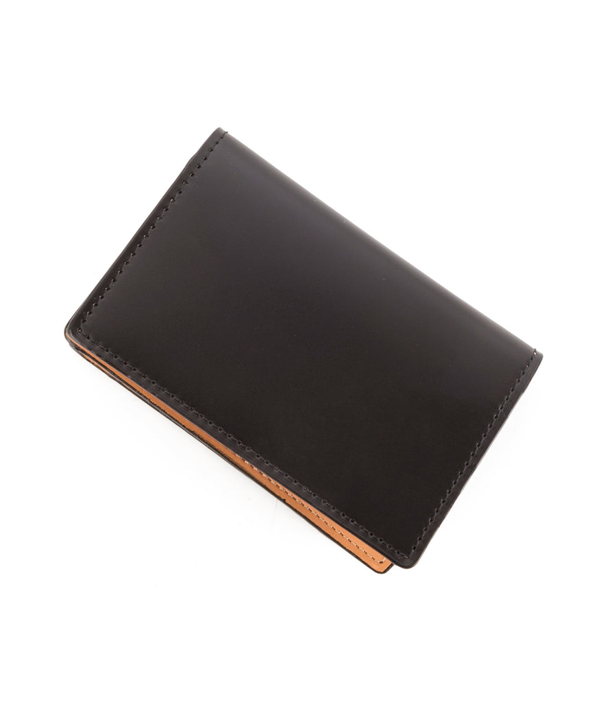 Hideo Wakamatsu Bond Card Case Black