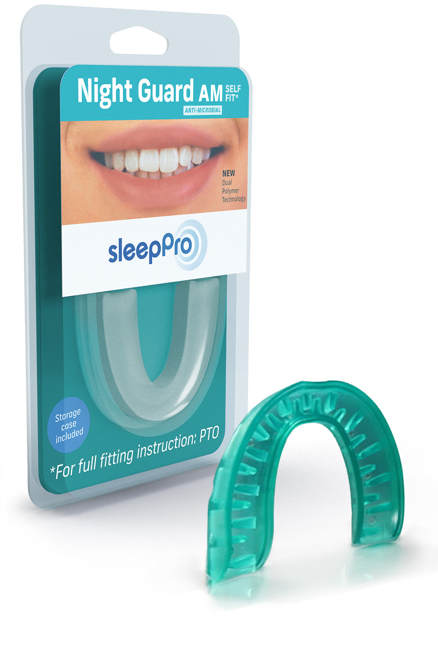 SleepPro Self Fit Night Guard AM Option - SleepPro Sleep Solutions