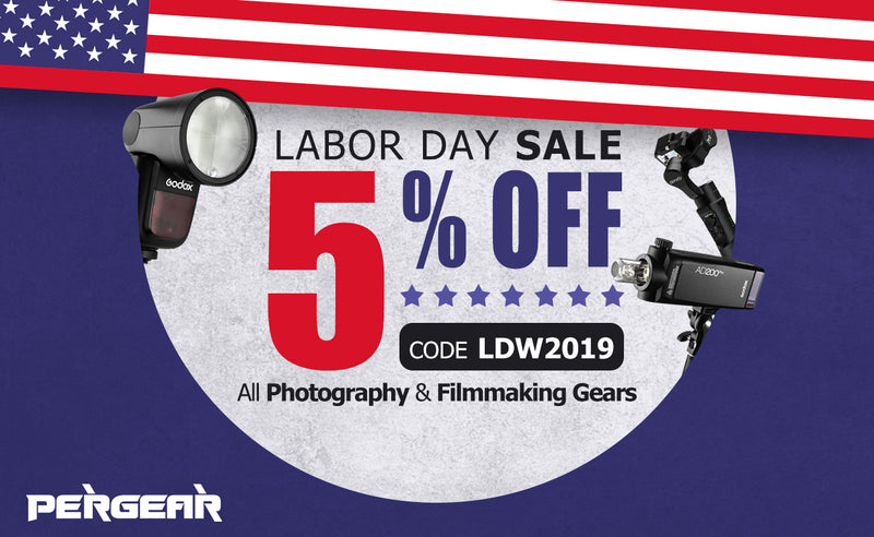 [ENDED] The Best Labor Day 2019 Sale: Get Your Best Everyday Photography and Filmmaking Gear