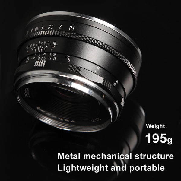 The Best Budget Lens-Pergear 25mm F1.8