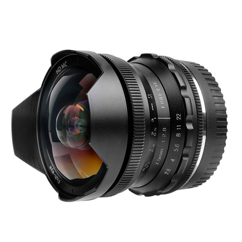An Affordable fisheye lens for Canon Users-Pergear 7.5mm F2.8