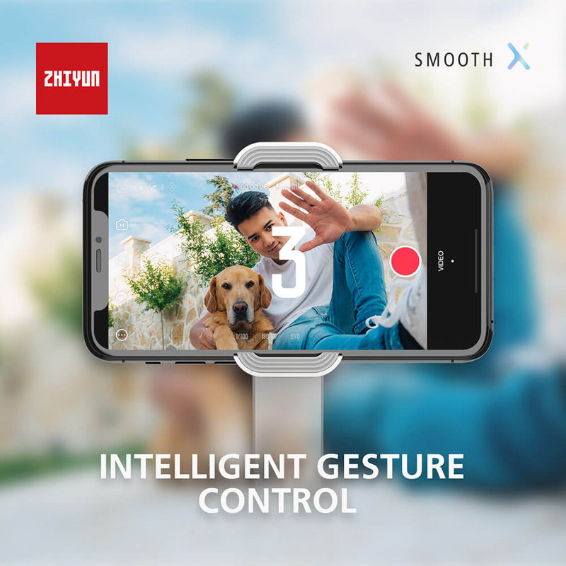 Zhiyun Smooth XPhone Sized Foldable Design Extendable Grip