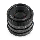 Pergear 50mm F1.8 Manual Focus Prime Fixed Lens for Sony, M4/3, Fuji Mirrorless Cameras