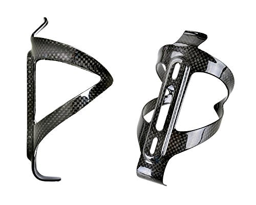 PERGEAR Carbon Fiber Lightweight Bicycle Water Bottle Cage