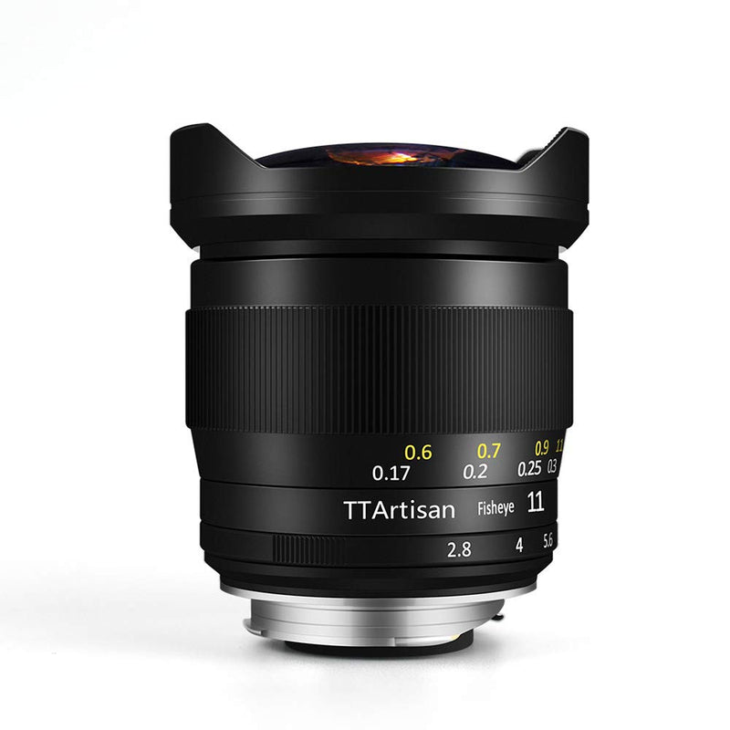 TTArtisan 11mm F2.8 Fisheye Manual Cameras Lens for Leica and Sony camera