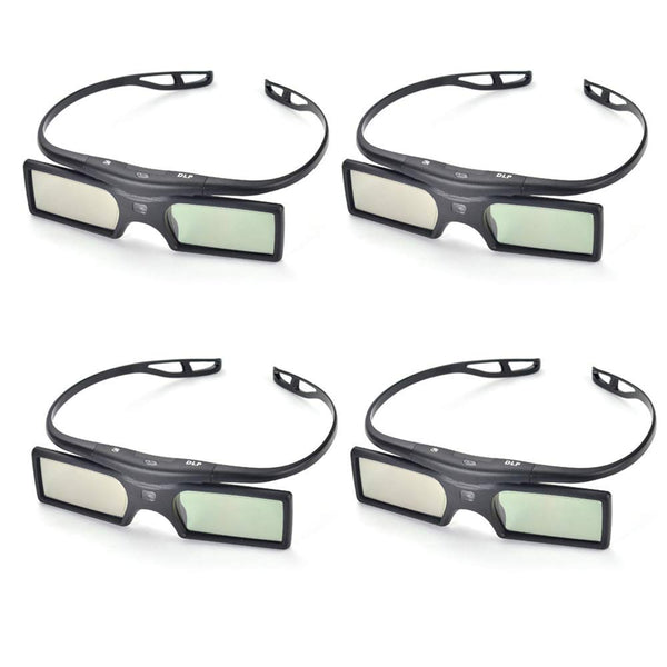 PERGEAR 4xG15-DLP 144Hz 3D DLP-Link Active Glasses