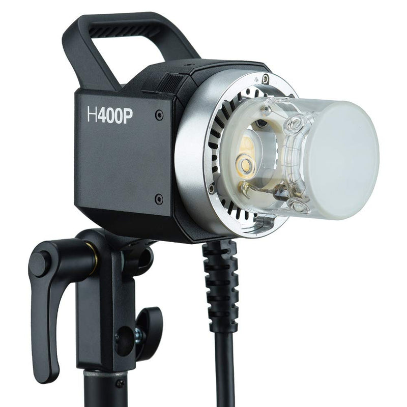 Godox H400P Bowens Mount Hand-Held Flash Extension Extra Head